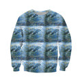 3D All Over Best Mother Dolphin Hoodie-Apparel-Khanh Arts-Sweat Shirt-S-Vibe Cosy™