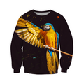 3D All Over Print Parrot L154000 Hoodie-Apparel-PHL-Sweat Shirt-S-Vibe Cosy™