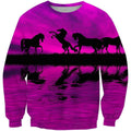 3D All Over Print Animals Horse Hoodie-Apparel-Phaethon-Sweatshirt-S-Vibe Cosy™
