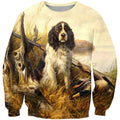 3D All Over Print Hunting Dog Duck Hoodie-Apparel-Phaethon-Sweatshirt-S-Vibe Cosy™