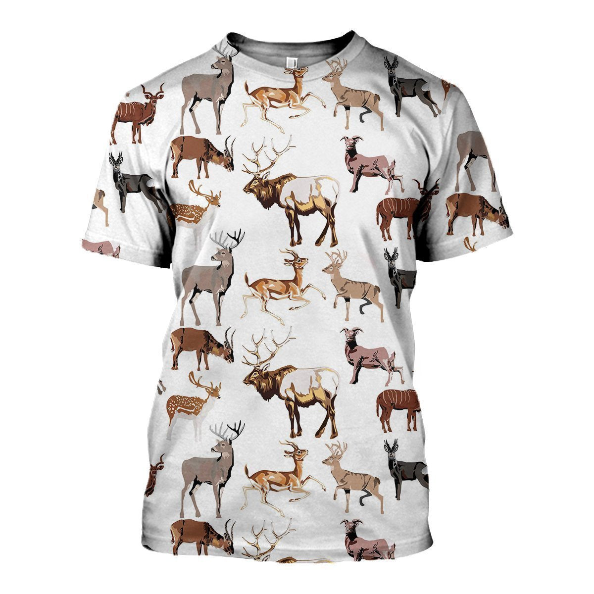 3D All Over Printed Hunting Deer Shirts and Shorts-Apparel-6teenth World-T-Shirt-S-Vibe Cosy™