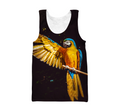 3D All Over Print Parrot L154000 Hoodie-Apparel-PHL-Tank Top-S-Vibe Cosy™