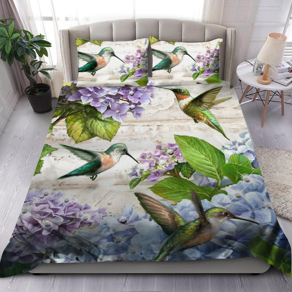Beautiful Hummingbird Bedding Set-ML-ML-US Twin-Vibe Cosy™