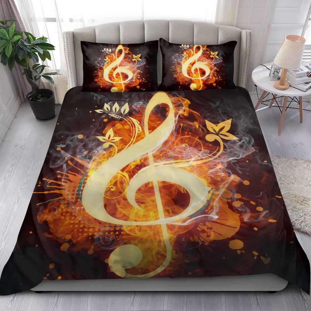 Lovely Music Bedding Set-ML-ML-US Twin-Vibe Cosy™