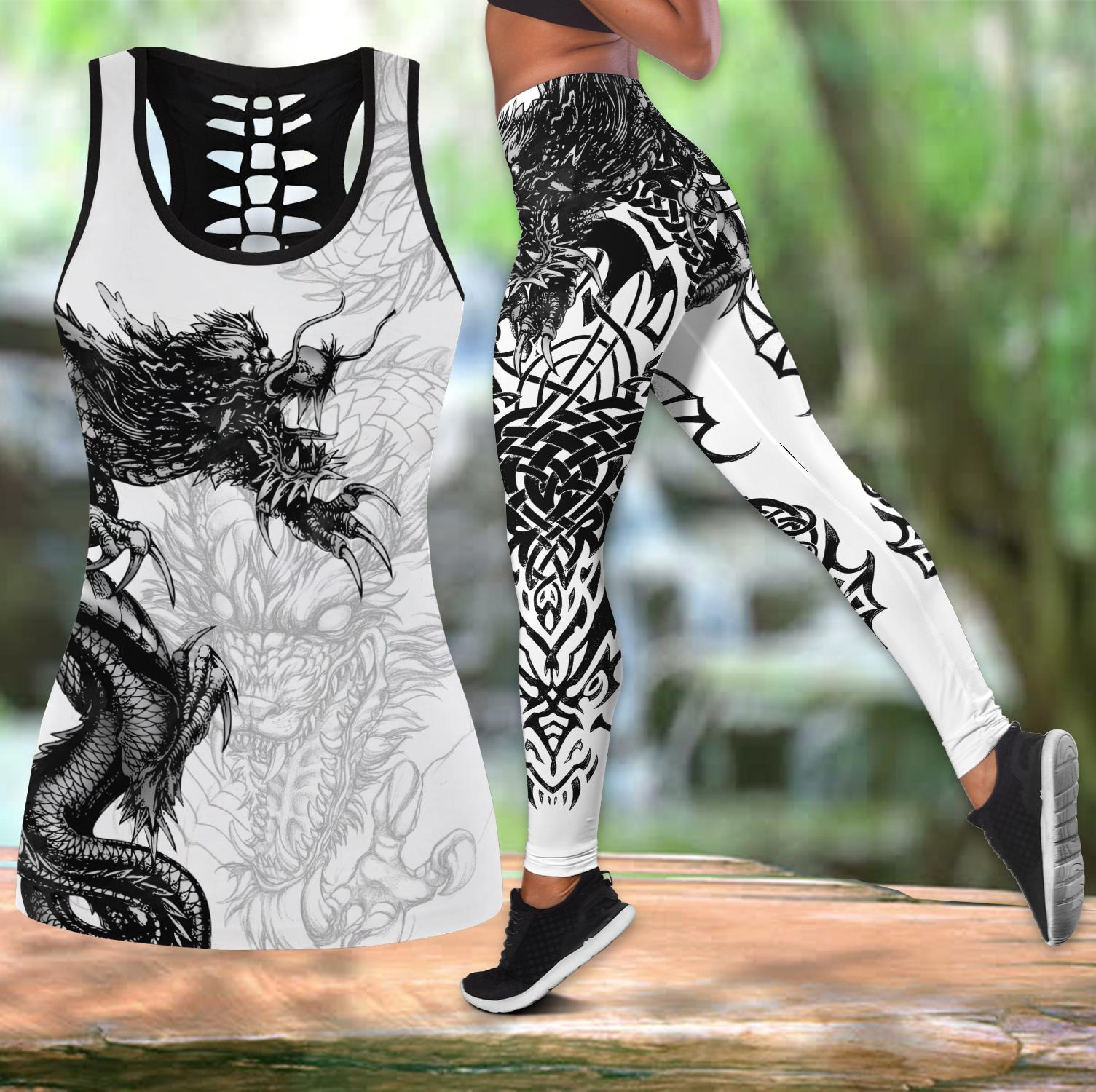 Love Dragon Legging & Tank top-ML
