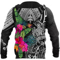 Amazing Hibiscus Turtle Hoodie Tshirt for Men and Women-ML