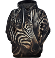 3D All Over Print Zebra Face Lovely Shirt-Apparel-6teenth World-Hoodie-S-Vibe Cosy™