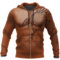 3.0 Vikings - The Raven of Odin Tattoo version 3.0-Apparel-HP Arts-Zipped Hoodie-S-Vibe Cosy™