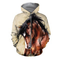 3D All Over Printed Horse painting Clothes-Apparel-HP Arts-ZIPPED HOODIE-S-Vibe Cosy™