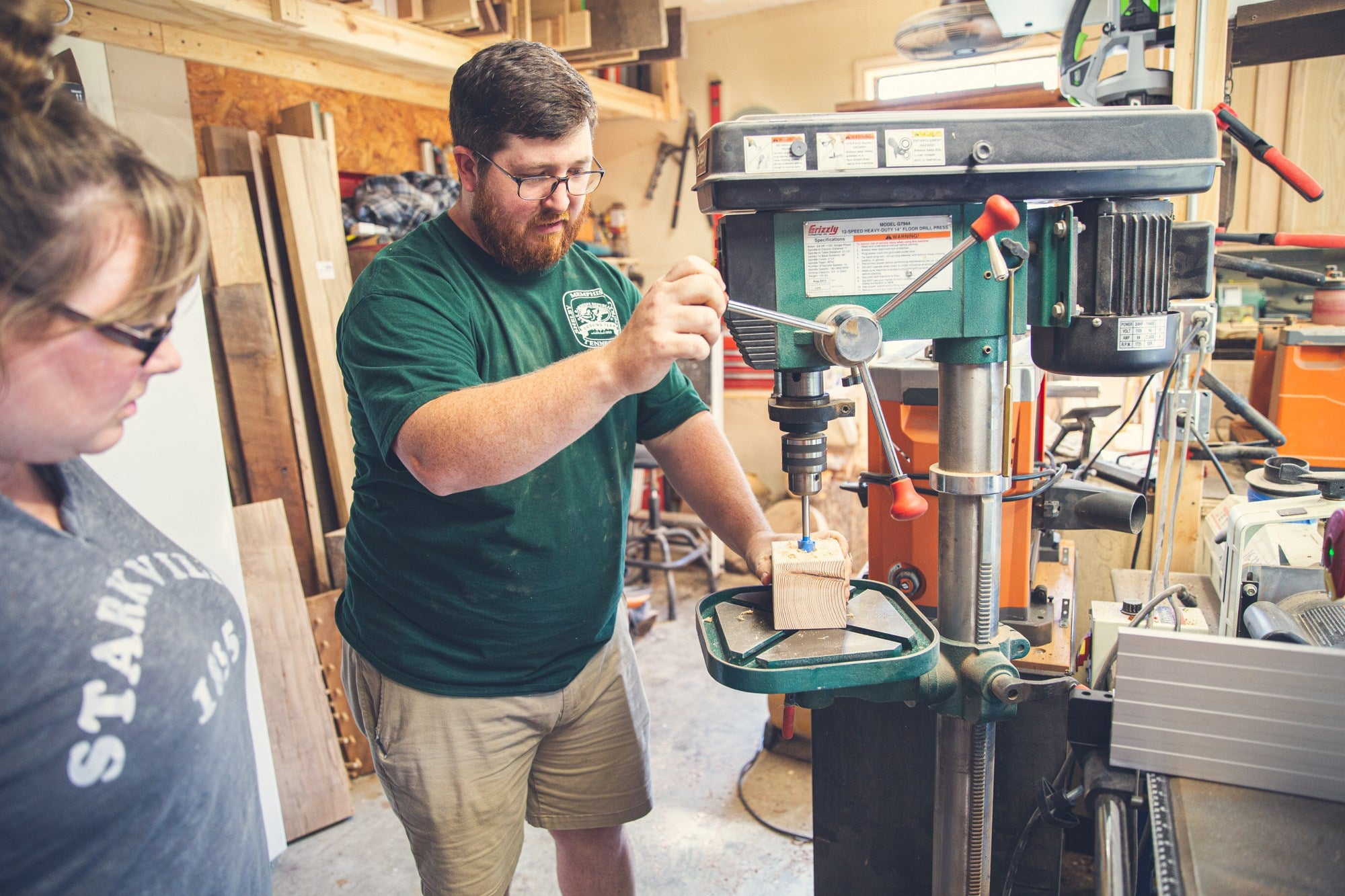 Spicer Brothers Woodworking How To Use a Drill Press with ARCHd