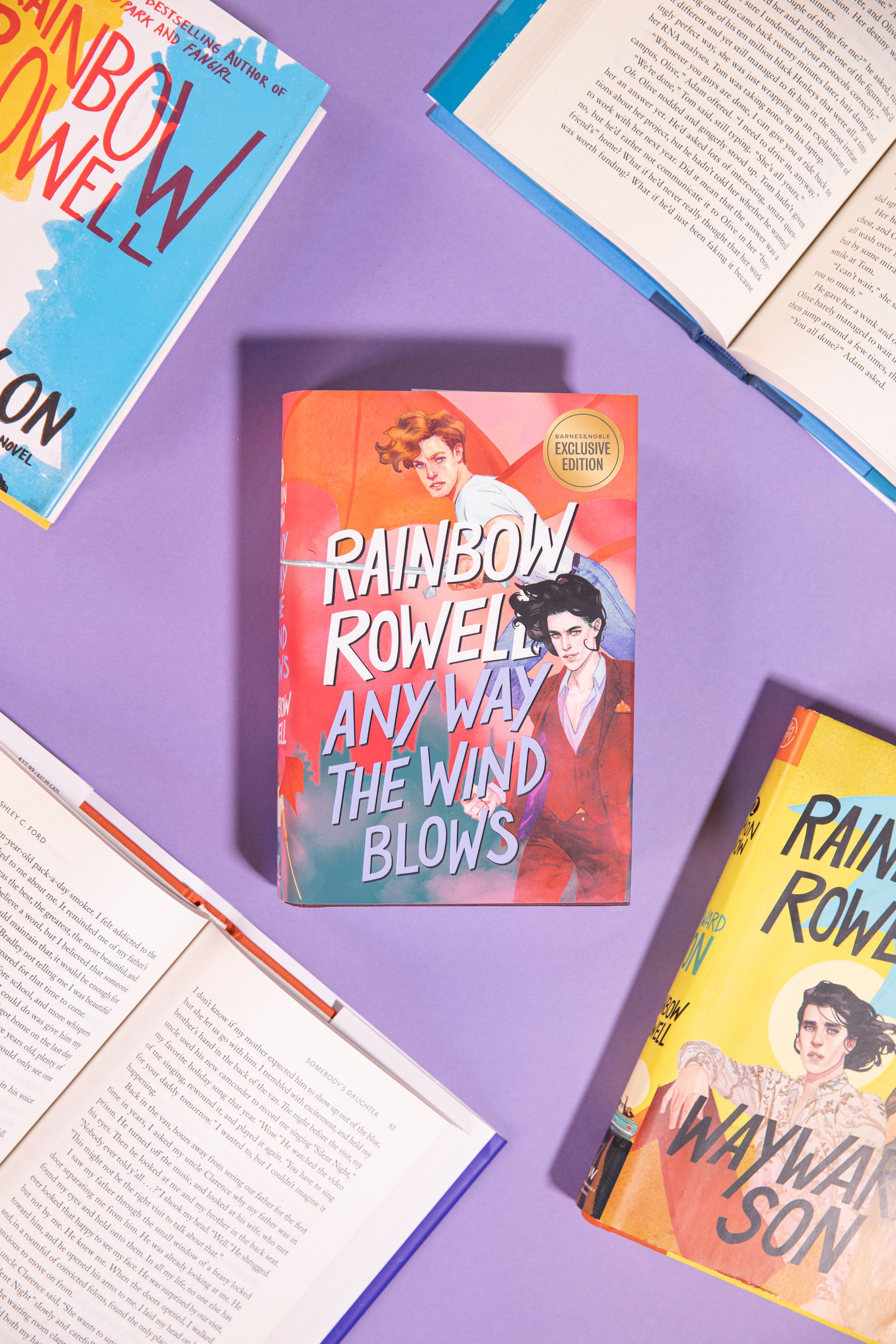 Any Way the Wind Blows, Simon Snow trilogy by Rainbow Rowell