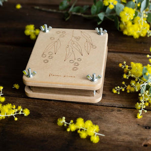 Mini Flower Press 'Wattle'