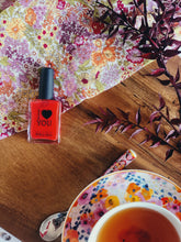 Load image into Gallery viewer, 'I Heart You' Nail Polish in Coral Red