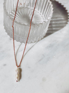 Charlotte Pearl Pendant Necklace