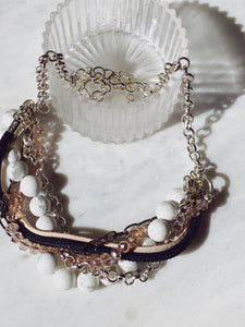 Rosa Statement Necklace