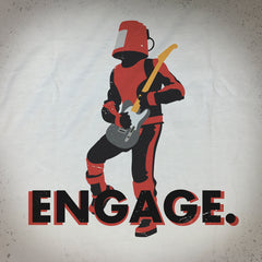 Engage tee - The Flying Pork Apparel Co.