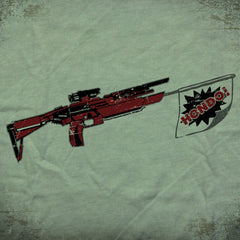 Hondo Gun tee - The Flying Pork Apparel Co.