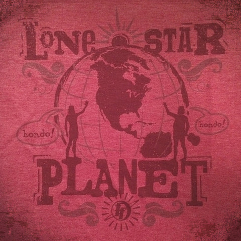 Lone Star Planet tee