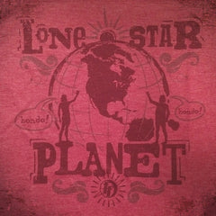 Lone Star Planet tee - The Flying Pork Apparel Co.