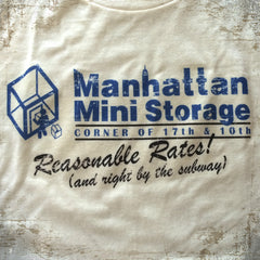 Mini-Storage tee - The Flying Pork Apparel Co.