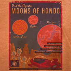 Moons of Hondo tee - The Flying Pork Apparel Co.