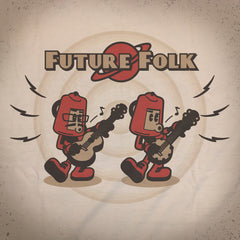 Retro Folk tee - The Flying Pork Apparel Co.