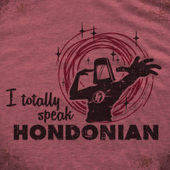 Speak Hondonian tee - The Flying Pork Apparel Co.