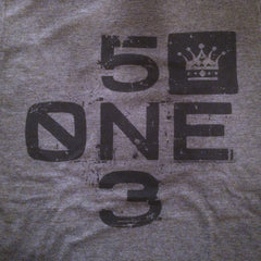 Cincinnati 5one3 tee - The Flying Pork Apparel Co.