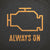 Always On tee. - The Flying Pork Apparel Co.