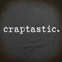 Craptastic tee - The Flying Pork Apparel Co.