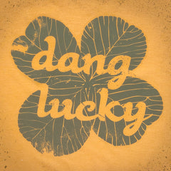 Dang Lucky tee. - The Flying Pork Apparel Co.