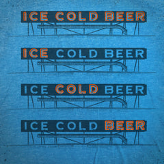 Ice Cold Beer tee