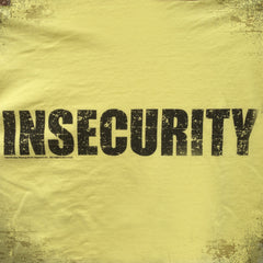 INSECURITY tee - The Flying Pork Apparel Co.
