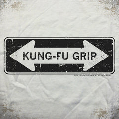 Kung-Fu Grip tee - The Flying Pork Apparel Co.