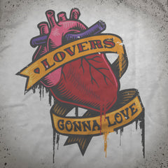 Lovers Gonna Love tee - The Flying Pork Apparel Co.