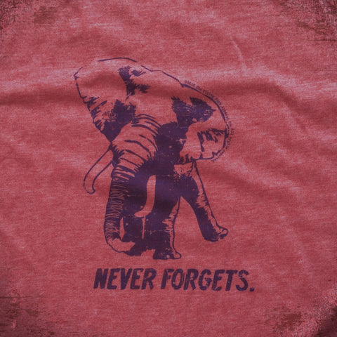 Never Forgets tee.