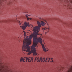 Never Forgets tee. - The Flying Pork Apparel Co.