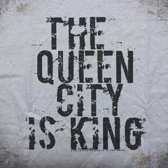 Queen City is King tee - The Flying Pork Apparel Co.