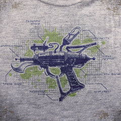 Ray Gun tee. - The Flying Pork Apparel Co.