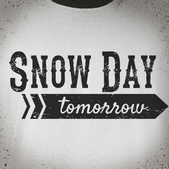 Snow Day tee - The Flying Pork Apparel Co.