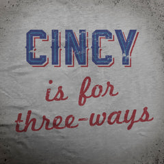 Cincy Three-Way tee - The Flying Pork Apparel Co.