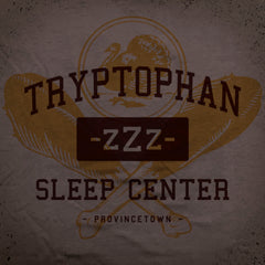 Tryptophan Center tee - The Flying Pork Apparel Co.