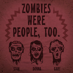 Zombie People tee - The Flying Pork Apparel Co.