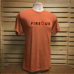 Orange Logo tee - The Flying Pork Apparel Co.