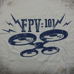 FPV:101 tee - The Flying Pork Apparel Co.