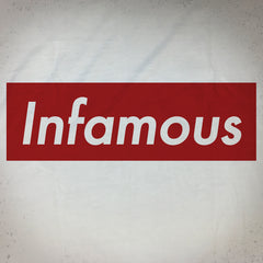 Infamous Supreme tee - The Flying Pork Apparel Co.