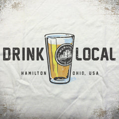 MBW Drink Local tees - The Flying Pork Apparel Co.