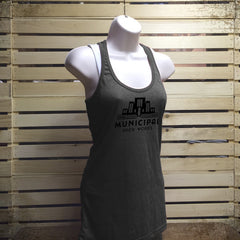 MBW Ladies Racer-tank - The Flying Pork Apparel Co.