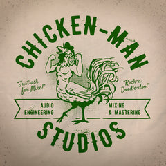Chickenman tee. - The Flying Pork Apparel Co.
