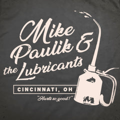 The Lubricants tee. - The Flying Pork Apparel Co.